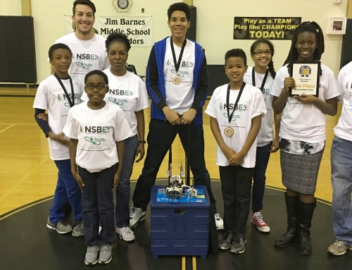 Town Lake (TX) Chapter Launches Award-winning NSBE Jr. Team