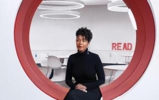 Maya Smart at Austin's New Central Library.