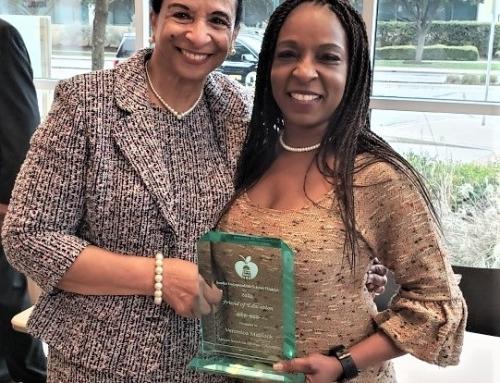 Congratulations, Veronica Jordan-Matlock, Friend of Education Award, Austin ISD 2020