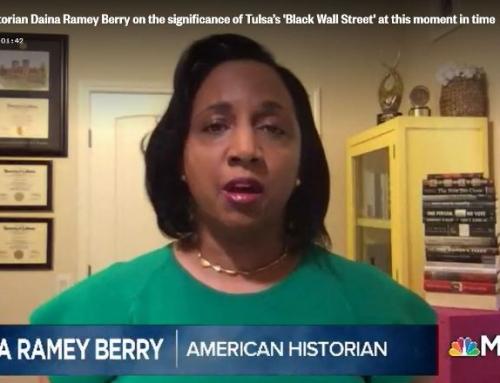 American Historian Daina Ramey Berry on MSNBC