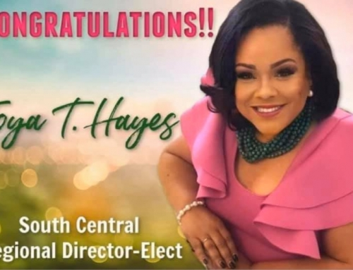 Joya Hayes-Regional Director-Elect for the South Central Region of Alpha Kappa Alpha Sorority, Incorporated