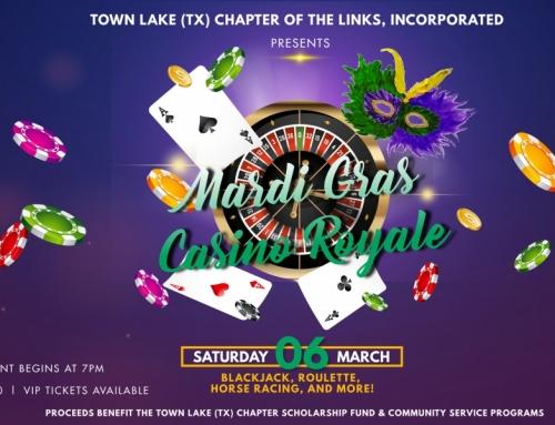 Announcing Mardi Gras Casino Royale!